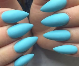 almond, sky blue, and blue image