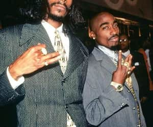 tupac, snoop dogg, and 2pac image