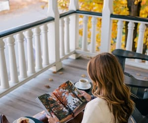 aesthetics, porch, and sweater image
