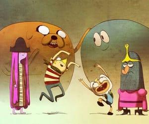 cartoon, adventure time, and flapjack image