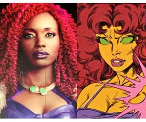 teen titans, live action, and titans image