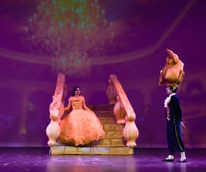 ballet, beauty and the beast, and princess image