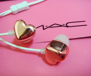 mac, pink, and heart image