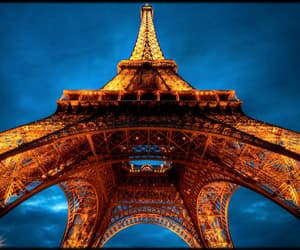 architecture, france, and neon image
