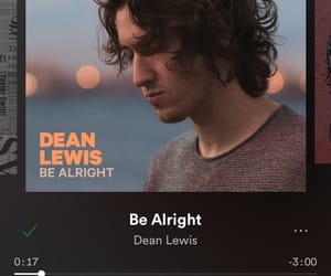 alright, be, and dean image