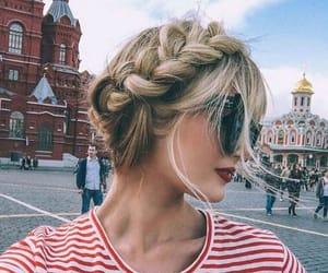 hair, photografy, and lentes image