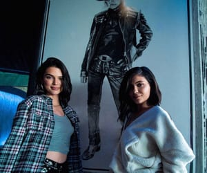 kendall jenner, kylie jenner, and style image