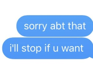 message, sorry, and text image