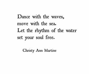 quotes, waves, and free image