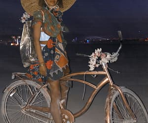 Burning Man, oufit, and nathalie kelley image