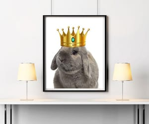 bunny, etsy, and girl room decor image
