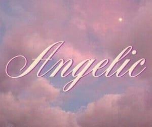 pink, aesthetic, and angelic image