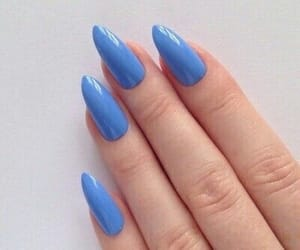 acrylics, aesthetic, and blue image