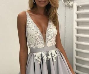 homecoming dress short, homecoming dress 2018, and homecoming dress a-line image