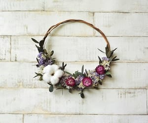 dried flowers, etsy, and rustic wedding image