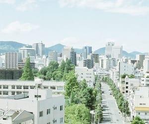 japan, city, and Hiroshima image