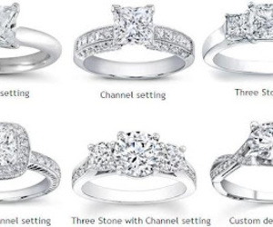information, engagement ring, and types of rings image