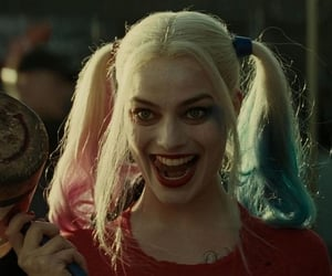 harley quinn, margot robbie, and icon image