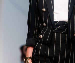 Balmain, suit, and womenswear image