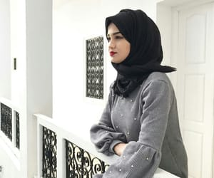 hijab, style, and cuet image
