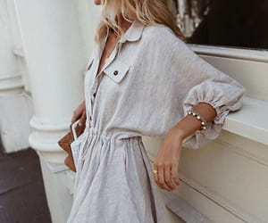 blonde, girl, and jewelry image