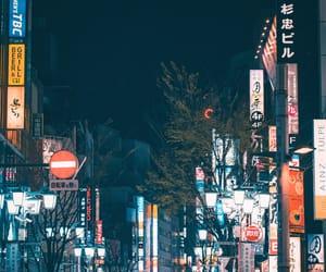 city, nikon, and Shinjuku image