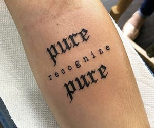 tattoo and pure image