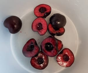 cherries, delicious, and food image