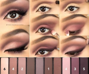 autumn colors, eye shadow, and make up pallete image
