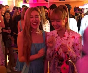 rose, blackpink, and park chaeyoung image