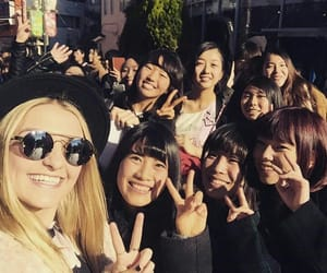 fans, smile, and tokyo image