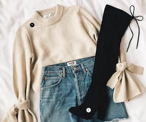 black boots, boots, and clothes image