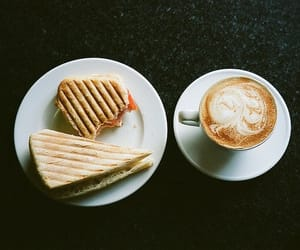vintage, coffee, and breakfast image