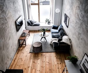 architecture, grey, and room image