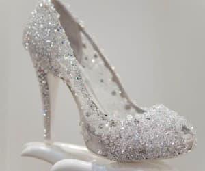 heels, shoes, and cinderella image