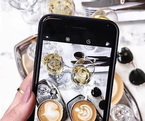 accessories, champagne, and coffee image