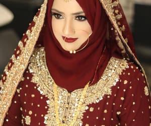 bride, hijab, and pakistan image