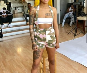 fashion, hair, and Tattoos image