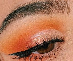 bored, eyeliner, and eyeshadow image