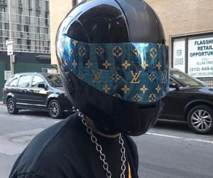 aesthetic, Louis Vuitton, and black image