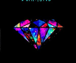 colorfull, diamond, and wallpaper image