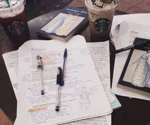 aesthetic, books, and notes image