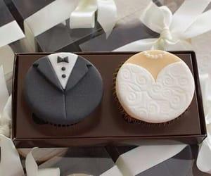 black, bride, and happy image