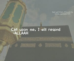 allah, beautiful place, and call image