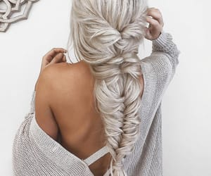 beauty, girl, and hairstyle image