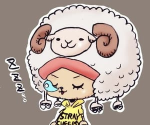 anime, sheep, and chopper image
