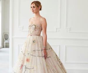dior, wedding, and dress image