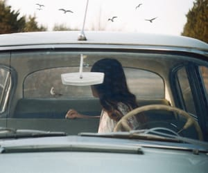 car, indie, and girl image