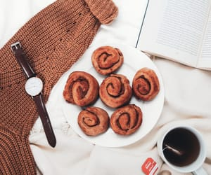 autumn, book, and Cinnamon image