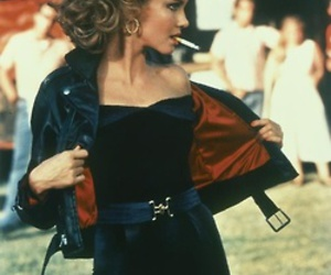 grease, Sandy, and movie image